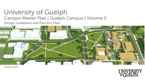 university of guelph campus master plan physical resources